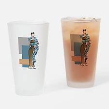 FASHION MODEL Drinking Glass
