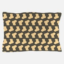 Brown and Tan Cute Little baby Socks P Pillow Case
