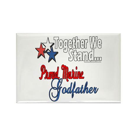 Marine Godfather Rectangle Magnet (100 pack)