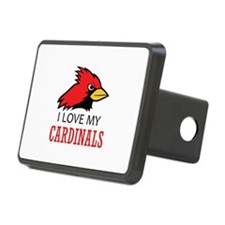 LOVE MY CARDINALS Hitch Cover