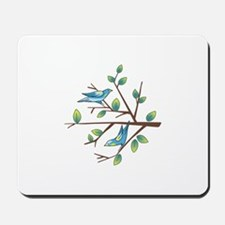 TAPESTRY BIRDS ON BRANCH Mousepad