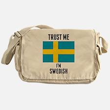 Trust Me Im Swedish Messenger Bag