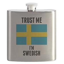 Trust Me Im Swedish Flask