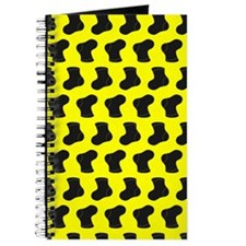 Yellow and Black Cute Little baby Socks Pa Journal