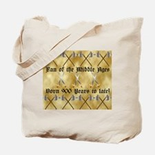 Medieval Fan Tote Bag