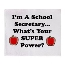 I secretary.png Throw Blanket