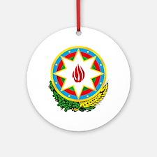 Azerbaijan Emblem Ornament (Round)