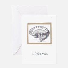 I Lobe You Greeting Card