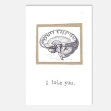 I Lobe You Postcards (Package of 8)