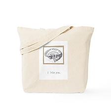 I Lobe You Tote Bag