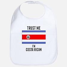 Trust Me Im Costa Rican Bib