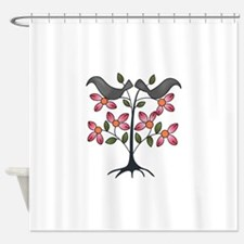 TAPESTRY CROWS Shower Curtain