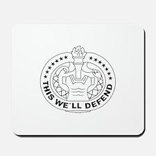 DRILL SERGEANT OPEN Mousepad