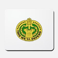 DRILL SERGEANT FILLED Mousepad