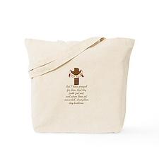 LUKE BIBLE VERSE Tote Bag