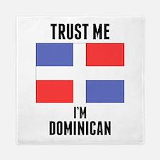 Trust Me Im Dominican Queen Duvet