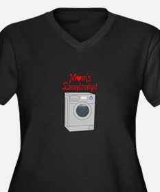 MOMS LAUNDROMAT Plus Size T-Shirt