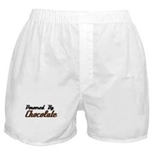 Powered by Chocolate Boxer Shorts