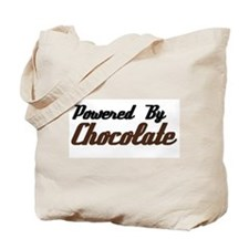 Powered by Chocolate Tote Bag