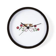 PENN DUTCH DOVES Wall Clock