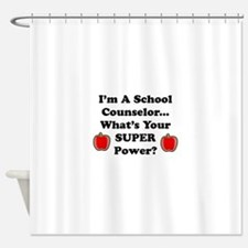 I teach counselor.png Shower Curtain