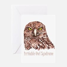 Irritable Owl Syndrome Humor Quote Burrowing Owl G
