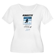 Speed of ice Plus Size T-Shirt