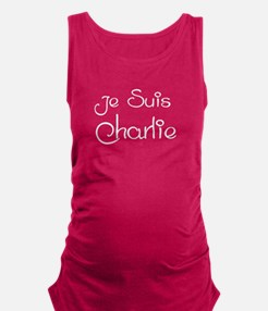 Je Suis Charlie Maternity Tank Top