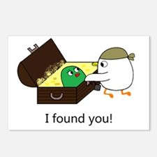 I found you! Postcards (Package of 8)