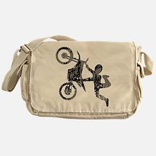 Freestyle Motocross Grunge Messenger Bag