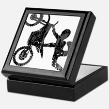 Freestyle Motocross Grunge Keepsake Box