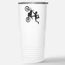 Freestyle Motocross Grunge Travel Mug