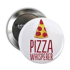 """Pizza Whisperer 2.25"""" Button (100 pack)"""
