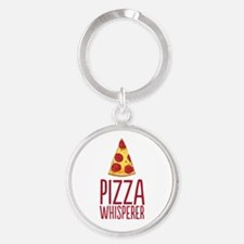 Pizza Whisperer Keychains