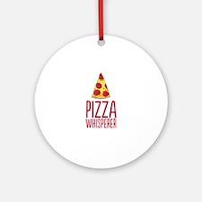 Pizza Whisperer Ornament (Round)