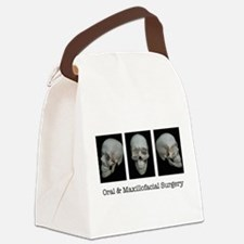 OMS surgical skull Canvas Lunch Bag