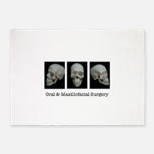 OMS surgical skull 5'x7'Area Rug