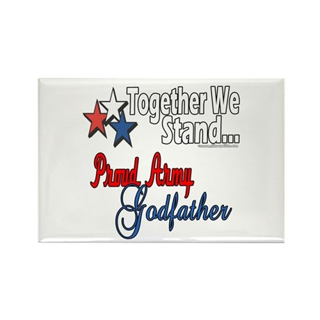 Army Godfather Rectangle Magnet (100 pack)
