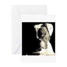 American Bulldog Greeting Card