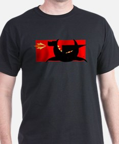 Cool Red dragon fire T-Shirt