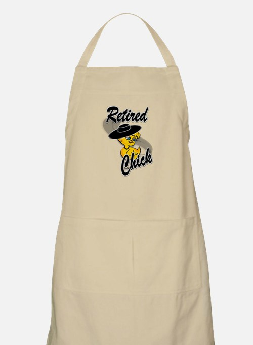 Retired Chick #4 Apron