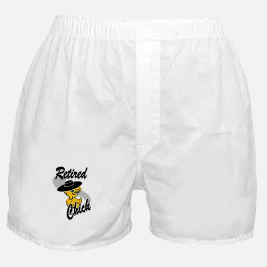 Retired Chick #4 Boxer Shorts