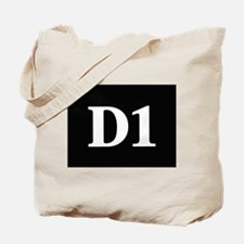 D1, first year dental student Tote Bag