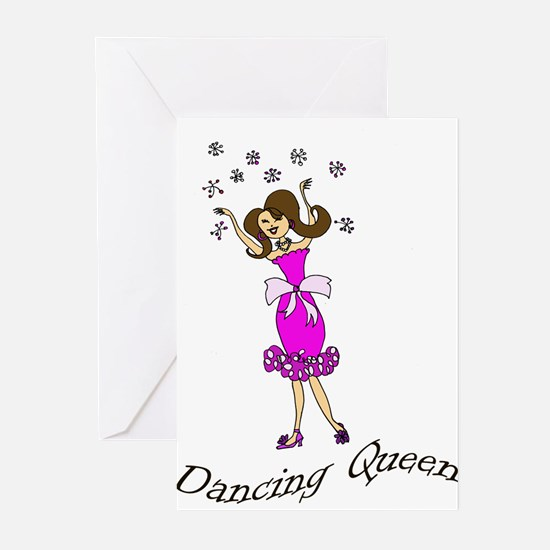Dancing Queen copy Greeting Cards