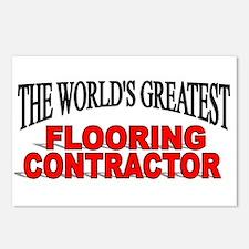 """The World's Greatest Flooring Contractor"" Postcar"