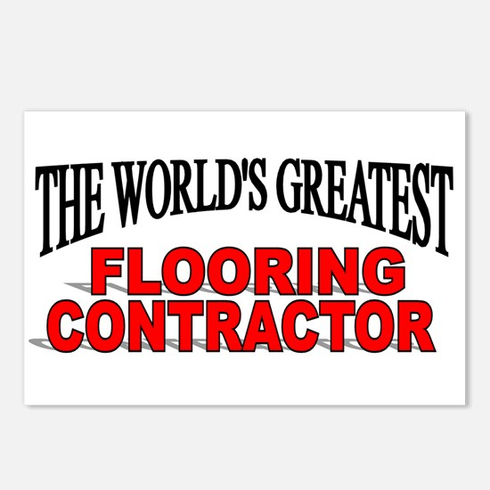"""The World's Greatest Flooring Contractor"" Postcar"