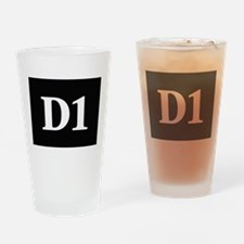 D1, first year dental student Drinking Glass
