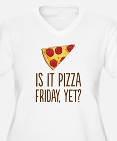 Pizza Friday Plus Size T-Shirt