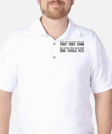 High and Low Golf Shirt