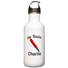 Je Suis Charlie Water Bottle